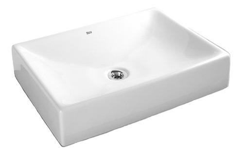 bacha lavatorio roca brunei de apoyo loza blanca
