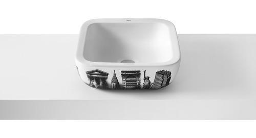 bacha lavatorio urban new york sobre encimera 420mm