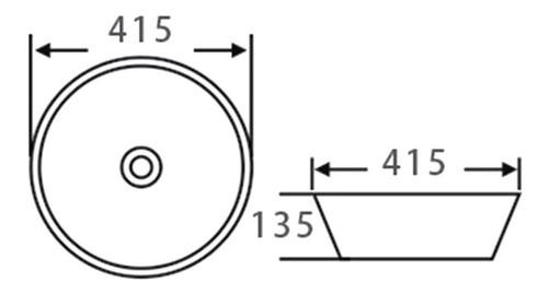 bacha peirano apoyo redonda bch06 grande 41 cm
