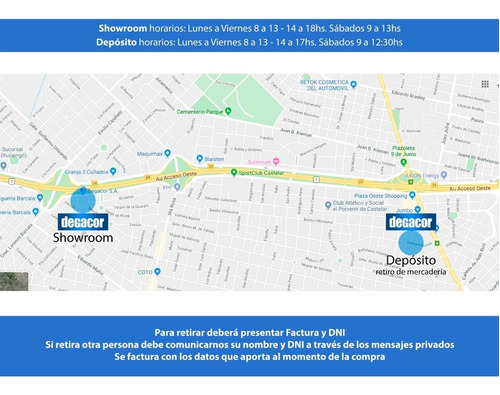 bacha piazza a029 de apoyo redonda baño monocomando
