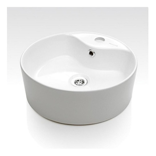 bacha piazza a029 lavatorio de apoyo monocomando loza blanca