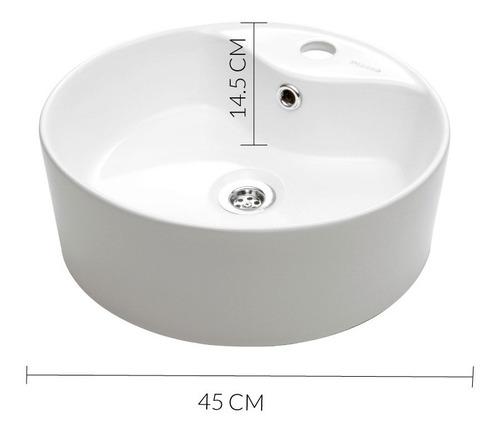 bacha piazza a329 apoyo loza porcelana sanitaria baño