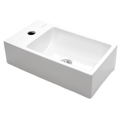 bacha piazza apoyo griferia monocomando lavatorio cromado