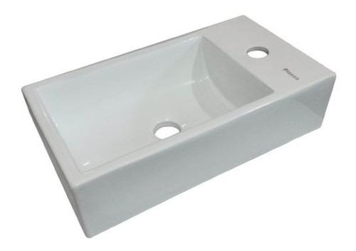 bacha piazza porcelana baño loza griferia cromo monocomando