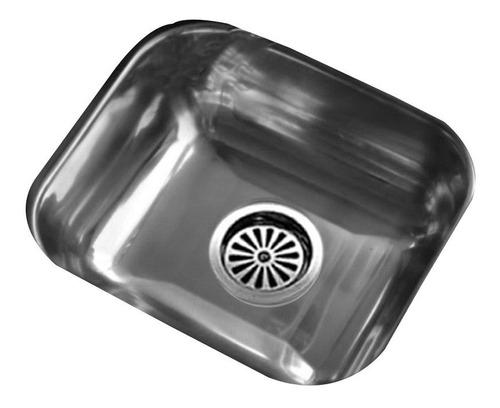 bacha pileta cocina simple johnson acero inoxidable ee 37
