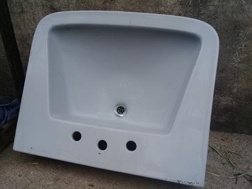 bacha pileta lavatorio lavamanos baño ferrum 64 x 53 cm