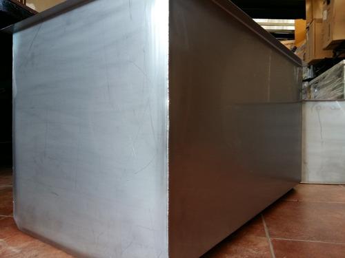 bacha pileton industrial profundo 100x50x50 cm fábrica 1.2mm
