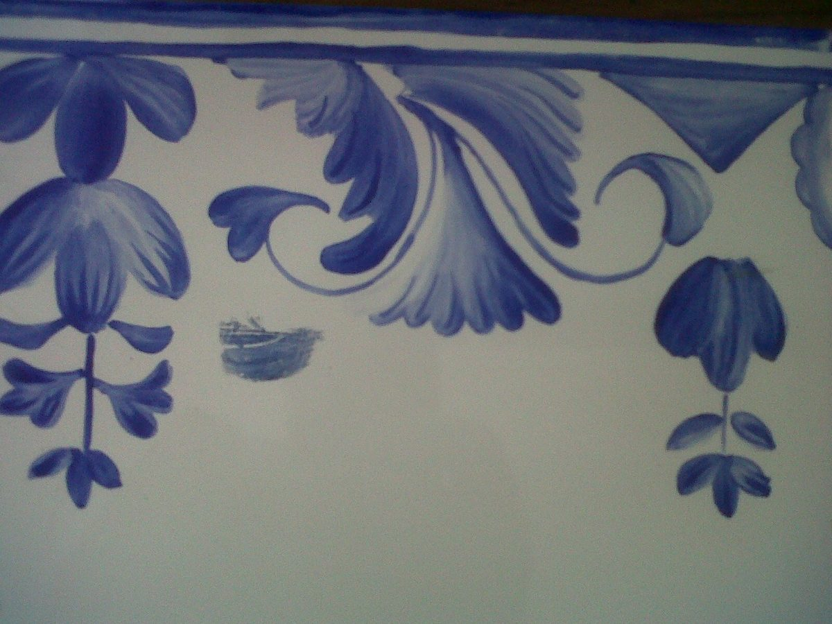 bacha pintada a mano - $ 2.200,00 en mercado libre - Bachas Para Bano Pintadas A Mano