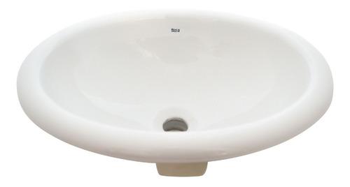 bacha roca indalo encimera lavatorio baño porcelana blanco