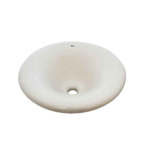 bacha roca osaka encimera lavatorio porcelana blanco