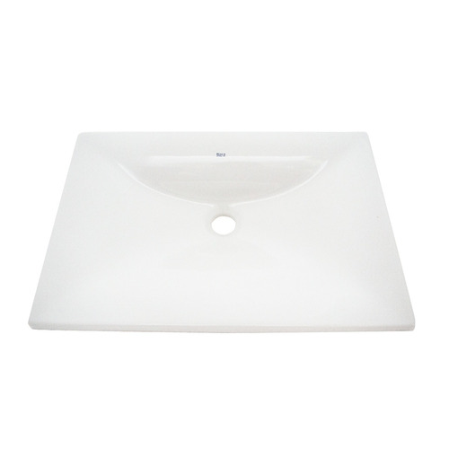 bacha roca saitama encimera lavatorio porcelana blanco