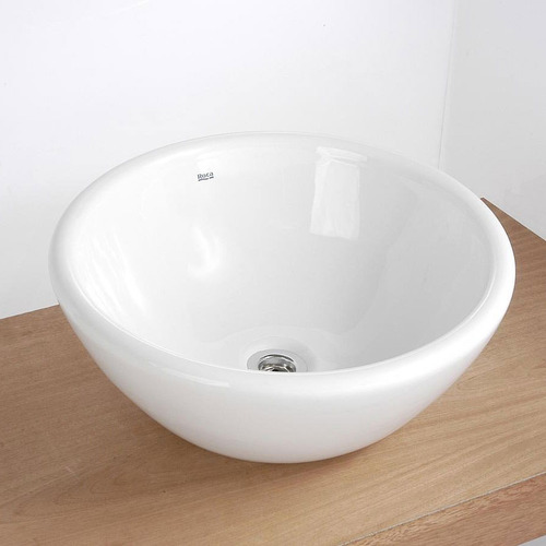 bacha roca zen napur de apoyo lavatorio porcelana blanco