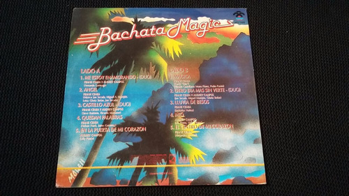 bachata magic lp vinilo reggae merengue