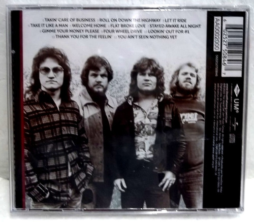 bachman turner overdrive icon cd original lacrado pronta en