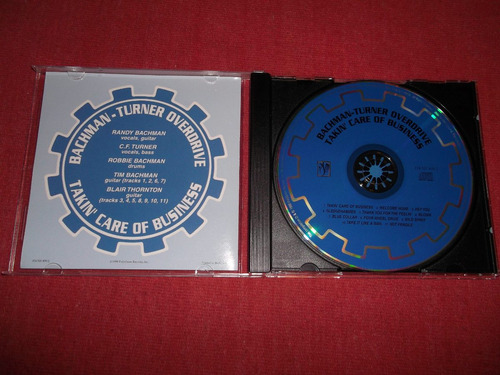 bachman turner overdrive takin care business cd 1998 mdisk