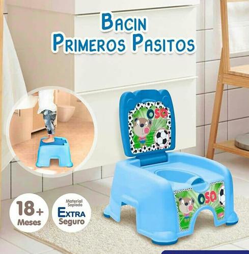 bacin banquito entrenador bebe - basa