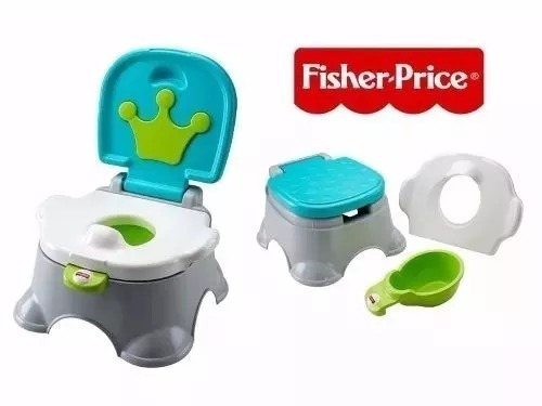 bacin royal fisher price verde nuevo nuevo 1107