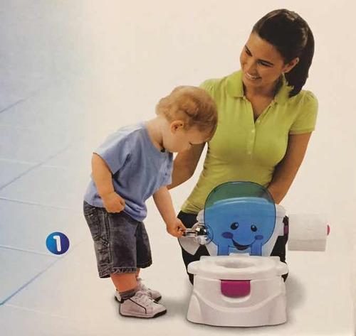 bacinilla vasenilla mica para bebés musical con reductor