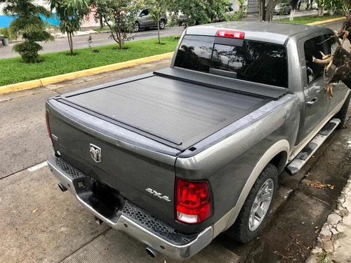 back cover ram box laramie cubierta enrollable de aluminio