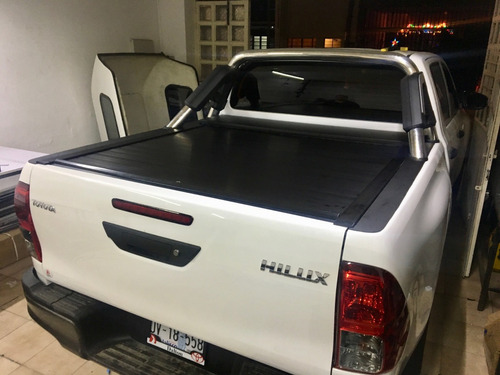 back cover toyota hilux 2017 cortina enrollable tapa pick up