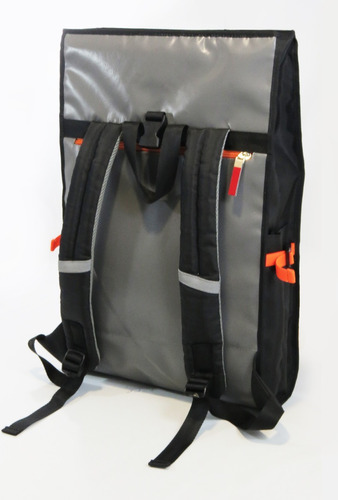 back pack maletin ecológico impermeable con reflectivo
