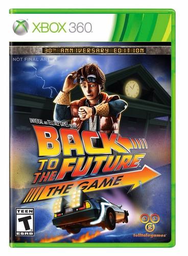 back to the future - 30th anniversary nuevo sellado xbox 360