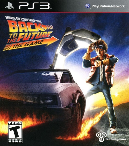 back to the future the game full series ps3 digital