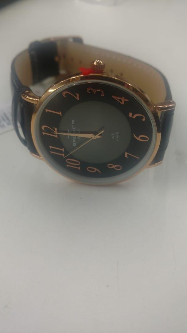 74e12645e0f Carregando zoom... relógio backer masculino slim 10816112m pr original e  barato