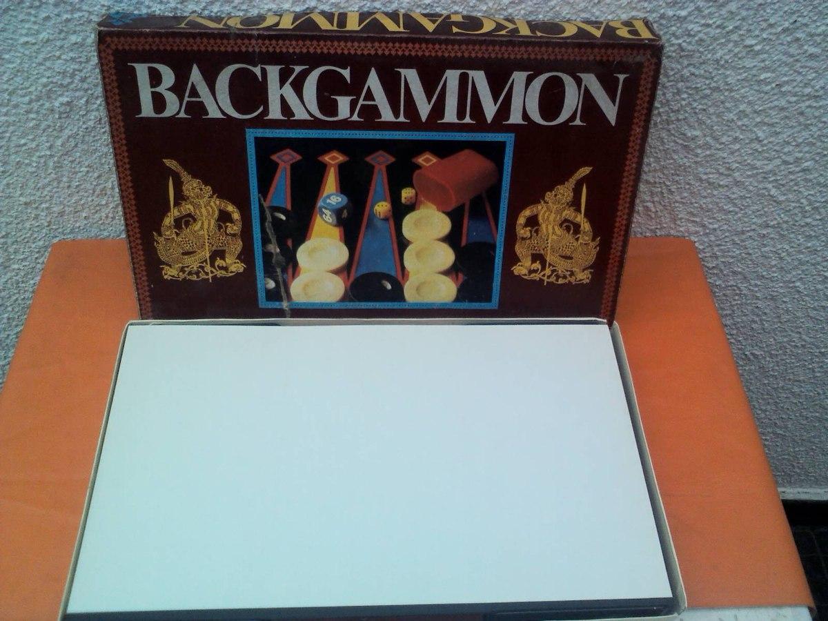 Backgammon De Mesa Kipos 1 072 76 En Mercado Libre