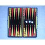Backgammon Juego Portátil Magnético 21x21 Cm Como Nuevo