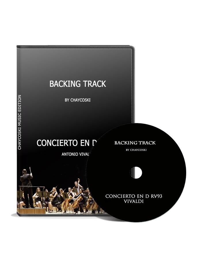 Backing Track - Concierto En D Mayor Rv93 Antonio Vivaldi