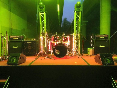 backline, audio e iluminación