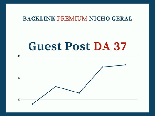 backlink brasileiro premium - nicho geral - guest post da 37