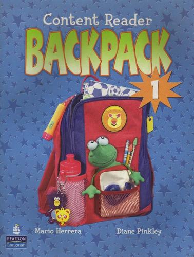 backpack 1 content reader de herrera & pinkley nuevo oferta