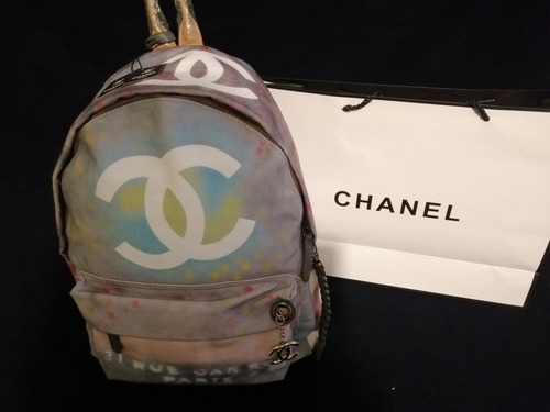 backpack chanel