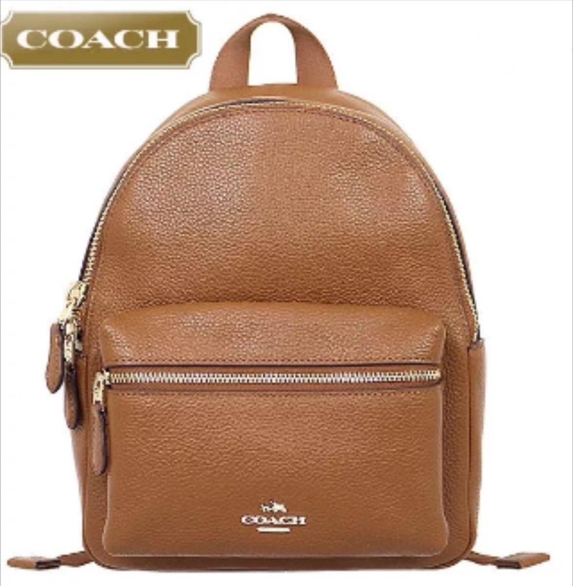 Backpack Coach Bolsa Mk Back Pack Mochila Original Mini -   4 6a19058d64d