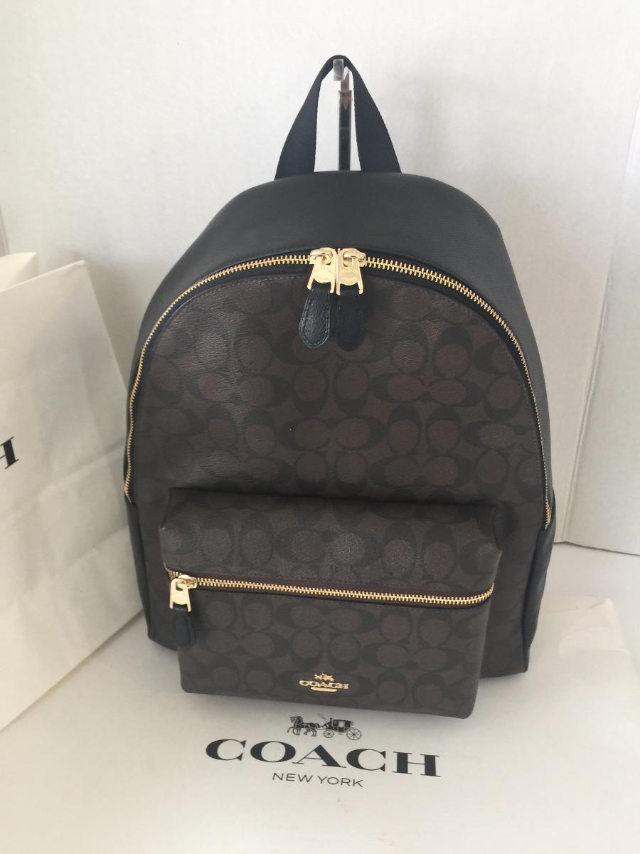 Backpack Coach Mk Back Pack Mochila Original - $ 4,900.00