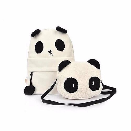 backpack en forma de panda dgv