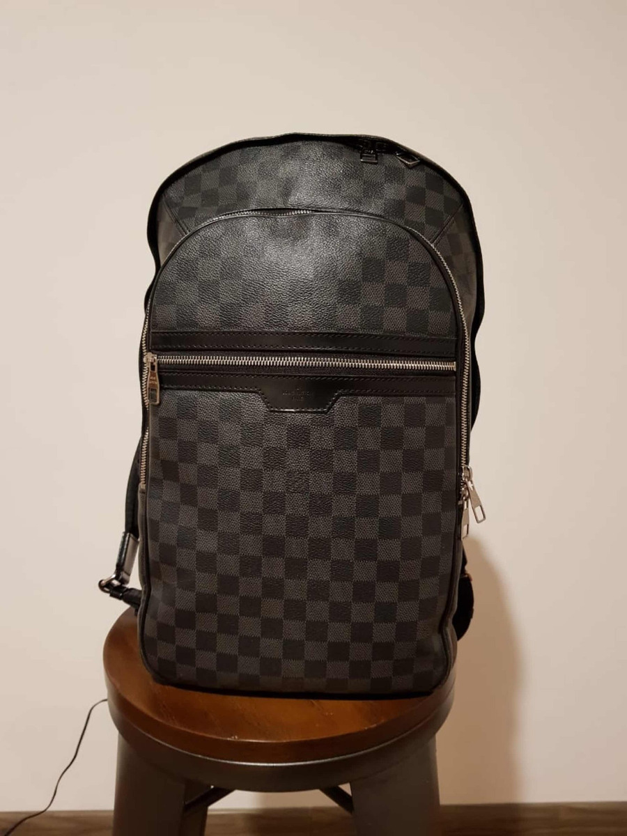 613914b4ddea backpack louis vuitton michael graphite. Cargando zoom.