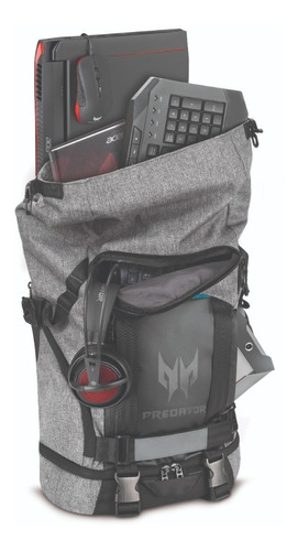 backpack predator rolltop 15.6