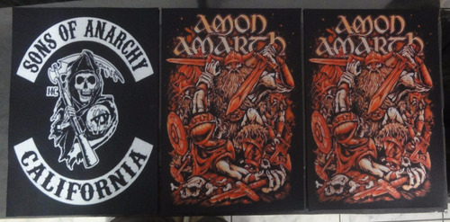 backpatch sons of anarchy califórnia - medidas: 28x20