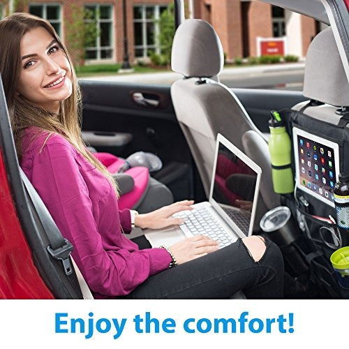 backseat car organizer y kick mat parte trasera del asiento