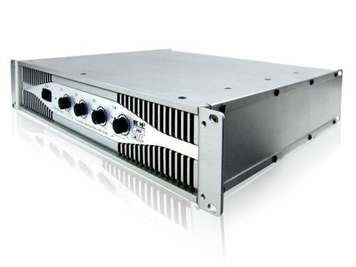backstage amplificador 4 canales salida hcfpro-4.20 800w rms