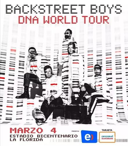 backstreet boys 4 marzo - cancha