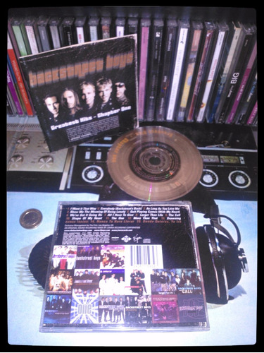 backstreet boys   - cd  original   - un tesoro músical
