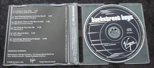 backstreet boys - cd promo - virgin !!! raro !!!