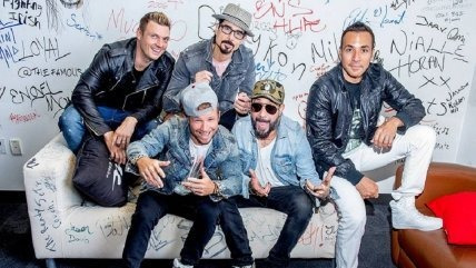 backstreet boys dna world tour 2x entradas galería 4 marzo