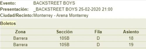backstreetboys monterrey