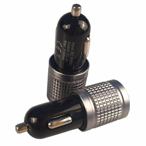 [backup para la electrónica móvil] cargador de coche techbro