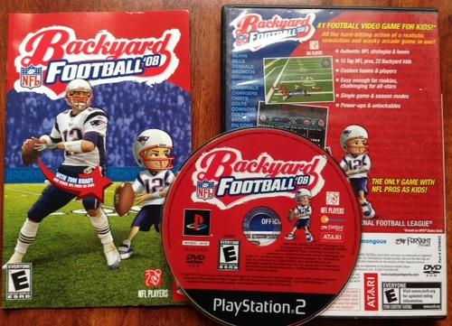 backyard football 08 / playstation 2 ps2